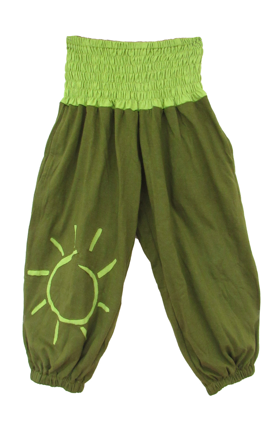 Children long baggy trousers