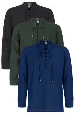 Long sleeve medieval style shirt