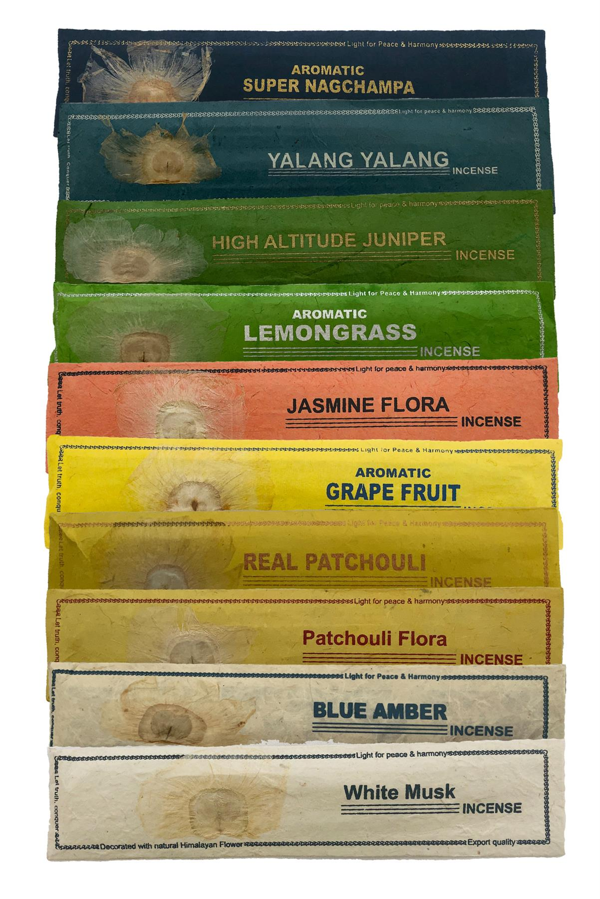 Himalayan flower natural incense