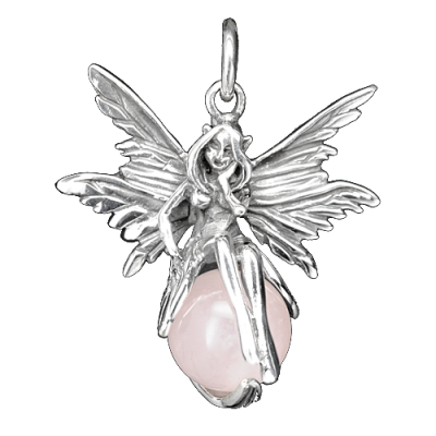Faerie on Rose Quartz