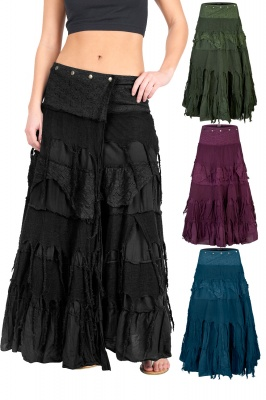Steampunk wrap skirt