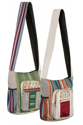 Himalayan hemp shoulder bag