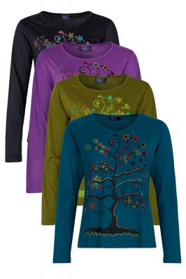 Tree of Life long sleeve top