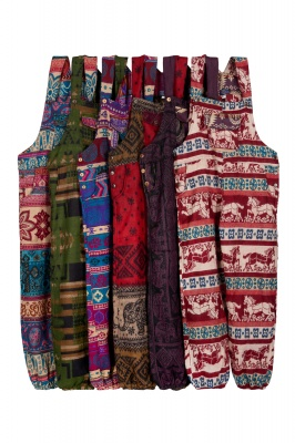 Winter baggy dungarees - assortment of colours