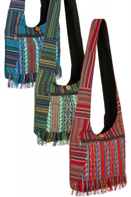 Cross body hippie bag