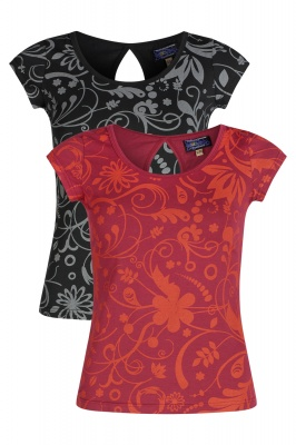 Organic cotton printed top