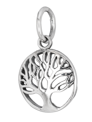 Silver small Tree of life pendant