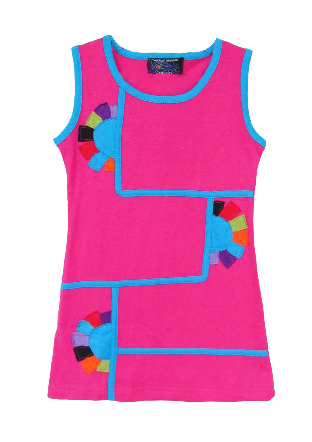 Children sleeveless dress