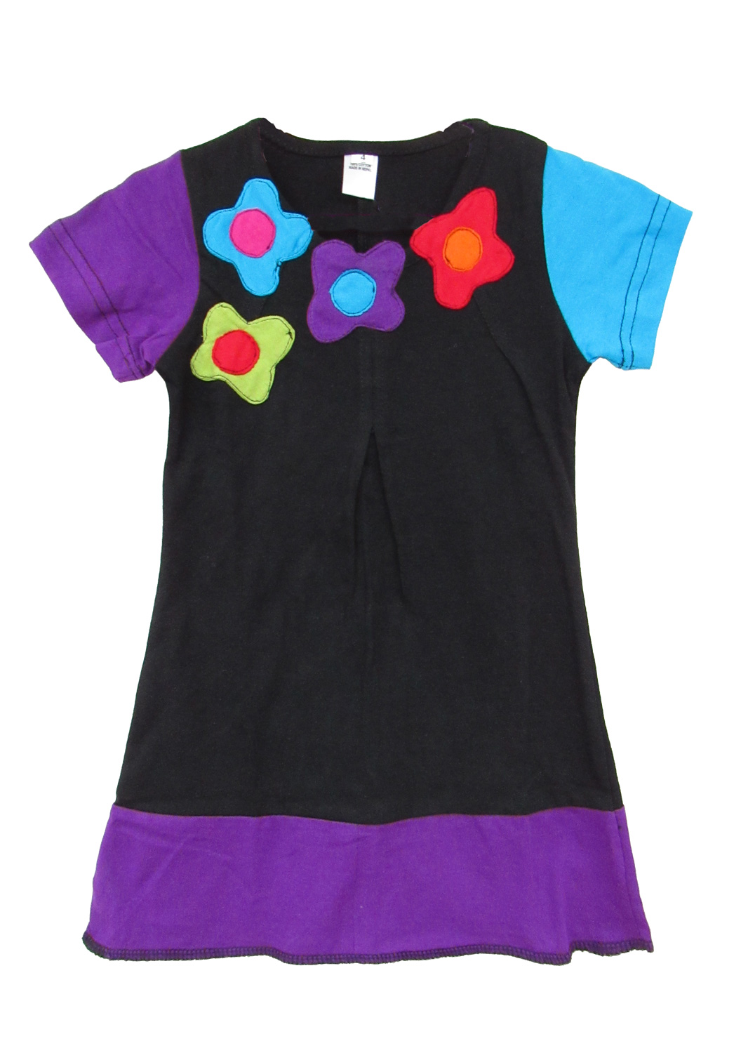 Children colourful flower dress