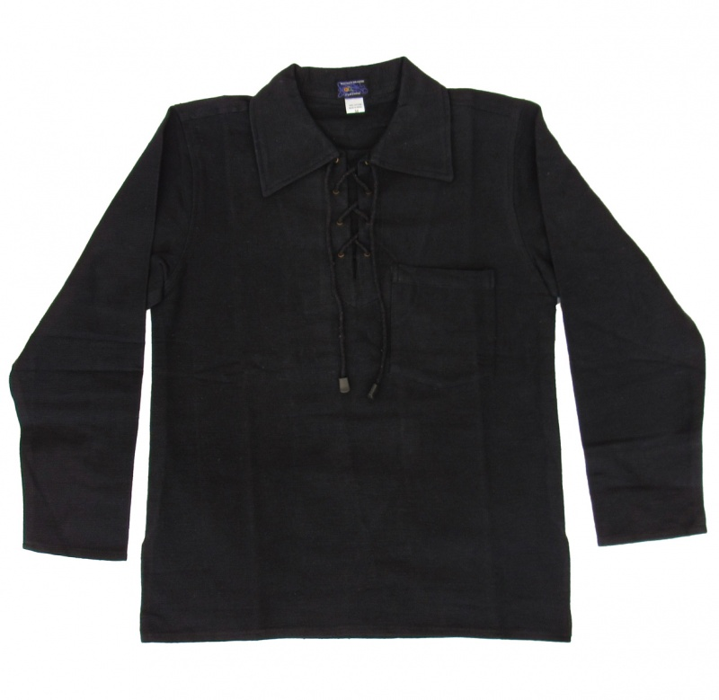 Medieval style heavy cotton shirt
