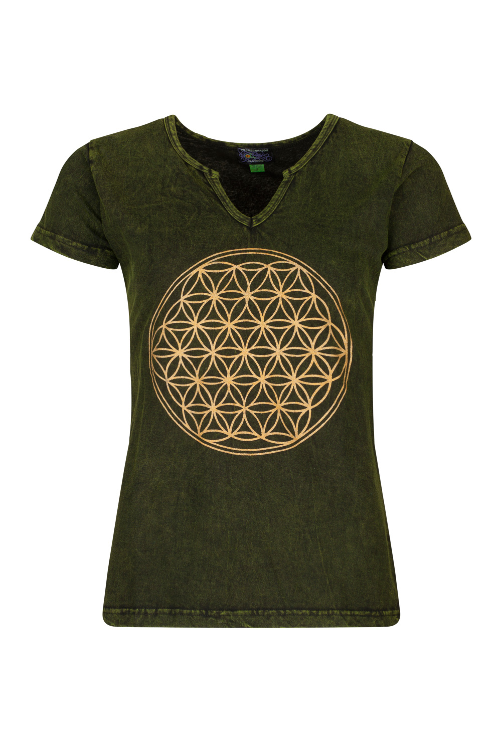 Short sleeve hippie top
