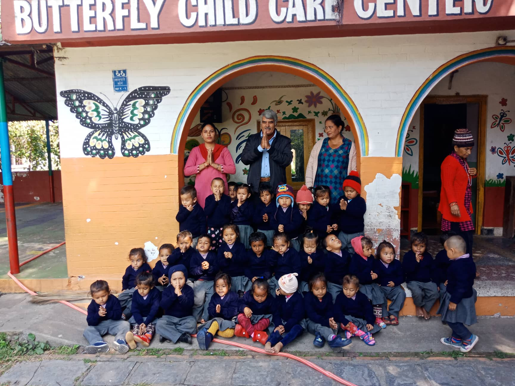Donation to Butterfly Children Centre in Nepal